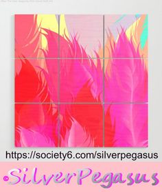 https://society6.com/silverpegasus , Shop for After The Rain Magenta Pink Wood Wall Art by © SilverPegasus /  Lush tropical garden nature art. Pink, orange and yellow fantasy foliage with turquoise accents / wall art, wall decor, home decor, interior design, large art / Buy wood wall art / Shop for wall decor on Pinterest / #woodwallart #largeart #wallart #walldecor #homedecor #interiordesign #tropicaldecor #leaves #fantasygarden #pinkdecor #trendy #society6