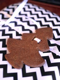Cookie ornament, could be in any other shape for another occasion