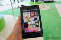 Google Nexus 7 by Asus hands-on pictures and video