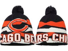 0dbb1a6be 2017 Winter NFL Fashion Beanie Sports Fans Knit hat Chicago Bears Shoes