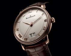 Pre Baselworld Introducing the Blancpain Villeret Grand Date - Specs and Price - Monochrome Watches Dream Watches, Fine Watches, Cool Watches, Rolex Watches, Stylish Watches, Luxury Watches For Men, Gentleman Watch, Watches Photography, Beautiful Watches