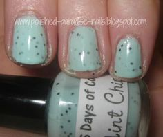 Polished Paradise: 365 Days of Color: Mint Chip - Beautiful Indie Polish!