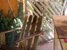 Marcenaria XXIV - Cadeira de jardim Adirondack.mkv