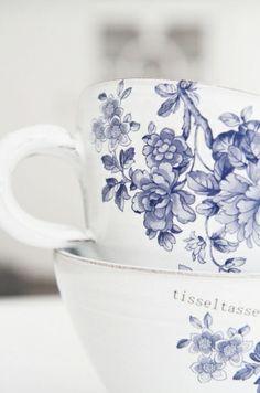 Blue & White Tea Cups | The House of Beccaria~