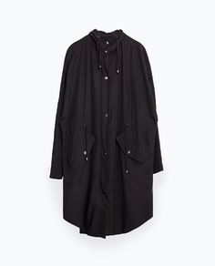 Image 8 of LONG FLOWING JACKET from Zara