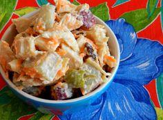 Pitadinha: Salada fria de frango com batata doce