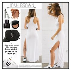 """""""Joah Brown 5"""" by gaby-mil ❤ liked on Polyvore featuring adidas, Yves Saint Laurent, Kenneth Cole, Bobbi Brown Cosmetics and joahbrown"""