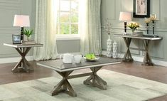 Homelegance 5177-30 Beaugrand Collection Color Light Oak