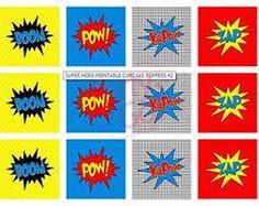 Resultado de imagen para souvenir  con superheroes