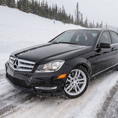 Already a family of well-balanced two- and four-doors, the C-Class becomes even more so with advanced 4MATIC all-wheel drive, standard on the C300 Sedan and optional on the C350 Coupe. And good thing, too—this has been the sort of winter where four-wheel traction really shines. If you're a proud owner, post your C-Class with the hashtag #4MATIC. #mercedes #benz #instacar #cclass