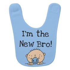 I'm the New Bro Bib