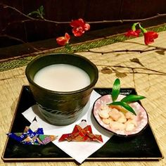 We have Hinamatsuri🎎 special set, Amazake with handmade Okaki. Hinamatsuri (March 3) is a Japanese traditional girls festival. It's limited set for this weekend. . . . #chaanteahouse #chaan #chaanyc #teahouse #teanyc #dessertnyc #nyceats #nycfoodies #nycfood #japanesefood #japanesefoodnyc #japanesedessert #eastvillage #foodie #littletokyo #nyclittletokyo #hinamatsuri #雛祭り #ひな祭り