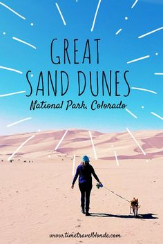 Grand Sand Dunes NP is un for the entire family, including our furry friends! Spend the day hiking, sand boarding, and stargazing while camping in the back country. Don't miss this hot spot just a couple hours south of Denver!