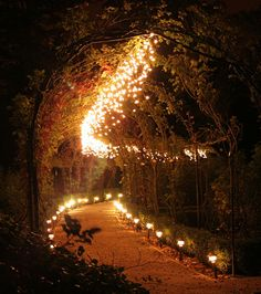 A good pathway to the wedding