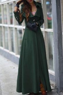 want this dress coat..also comes in black...Lapel One Button Faux Wool Coat