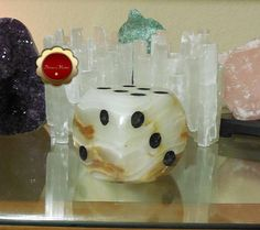 Jumbo Onyx Dice, Large Onyx Dice, Hand Carved Jumbo Dice, Onyx Paperweight, Carved Onyx, Decorative Accent Piece