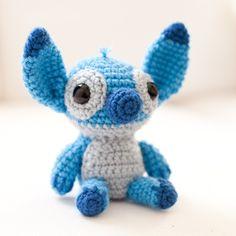 Amigurumi Crochet Stitch, from Lilo and Stitch   thebhivecreations.com