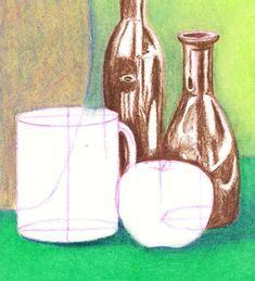Still Life Techniques - Oil Pastel Slideshow Oil Painting Basics, Oil Painting Supplies, Oil Painting For Sale, Paintings For Sale, Easy Still Life Drawing, Painting Still Life, Oil Pastel Colours, Oil Pastel Art, Oil Pastels