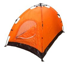Instant Automatic Pop Up Backpacking Camping Hiking 2 Man Tent Orange Sealed ** Want additional info? Click on the image. http://www.amazon.com/gp/product/B00F8JLHEG/?tag=camping3638-20&pza=130117073928