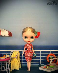 OOAK Handmade Blythe dress. de Blythepersonalbelong en Etsy