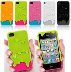 melting ice iphone case, I have the pink with blue one