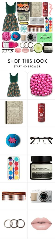 """Swimming With Sharks"" by paper-towns ❤ liked on Polyvore featuring Dorothy Perkins, Avery, Zero Gravity, Aesop, Mason Pearson and Pearls Before Swine"
