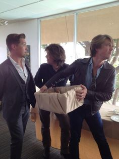 Bagels with Hanson!