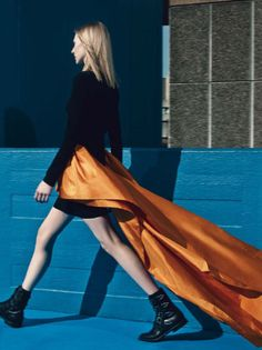 Julia Nobis by Craig McDean for Vogue Italia