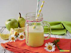 Succo detox con limone mela e pera  #ricette #food #recipes