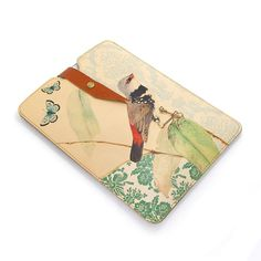 Leather iPad mini case, iPad mini 3 Case, Kindle Paperwhite Case - Bird on Branch with Butterflies by tovicorrie on Etsy https://www.etsy.com/listing/166769115/leather-ipad-mini-case-ipad-mini-3-case