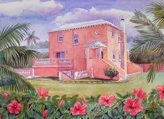 Janet Zeh Original Art Watercolor and Oil Paintings: Zeh Home Portrait Painting in Watercolor or Oil