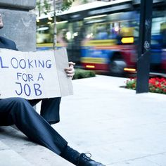 In the upside-down, topsy-turvy world of jobs these days, even an advanced degree can't protect some Americans from tumbling down the economic ladder.
