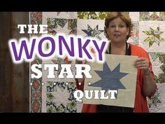 How to Make a Wonky Star Quilt - YouTube