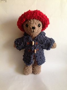 Amigurumi Paddington Bear : 1000+ images about AMIGURUMI on Pinterest Free amigurumi ...