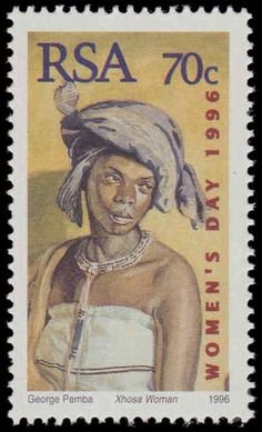 South Africa 1996 National Women's Day unmounted mint.