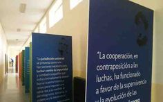 """El IES Pío del Río Hortega, de Arrabal de Portillo (Valladolid), acoge la muestra """"17 objetivos para mejorar el mundo"""" hasta el 31 de enero http://www.revcyl.com/web/index.php/medio-ambiente/item/8665-el-ies-pio-del-"""