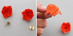 How to Create Rosette Accessories Using Duct Tape | Brit + Co.