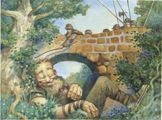 The sleeping Troll - Larry MacDougall - Faerie Tale Illustration, Comics and Animation | bridge-troll's gallery