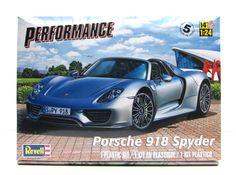 Porsche 918 Spyder Revell 85-4329 1/24 New Car Model Kit