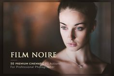 50 Film Noire PS Actions Bundle by Micromove on @creativemarket
