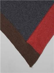 Couverture and The Garbstore - Womens - Inverni - Cashmere Colour Block Knitted Stole