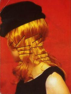 Kirsten Owen in Yohji Yamamoto, photographed by Paolo Roversi.