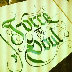 #Calligraphy