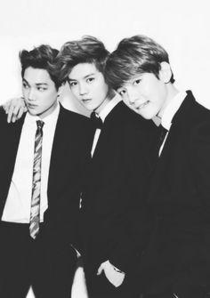 Kai • Luhan • Baekhyun • ♥ #EXO