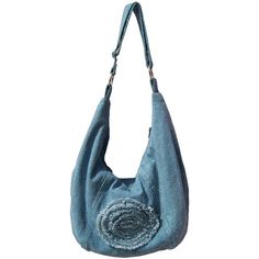 Hey, I found this really awesome Etsy listing at https://www.etsy.com/listing/213106901/denim-slouch-bag-denim-purse-with
