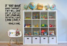 Roald Dahl sunbeams quote wall art wa054 by leebolddesigns on Etsy, £16.99