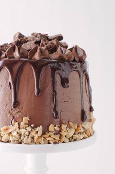 Crack Brownie Cake