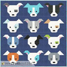 Only four more days... And the Dog Gone Cute Quilt Along Blog Hop begins!   I am PAWS-atively super excited! And the response to my request ...