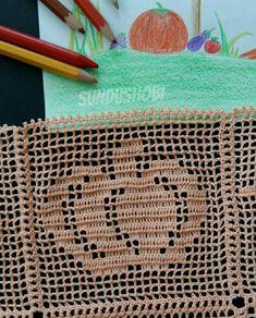 Crochet Quilt, Crochet Cushions, Crochet Books, Crochet Squares, Filet Crochet, Diy Crochet, Crochet Doilies, Crochet Hats, Crochet Bikini Pattern