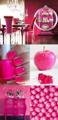 pink COLOR INSPIRATION : ULTRA PINK